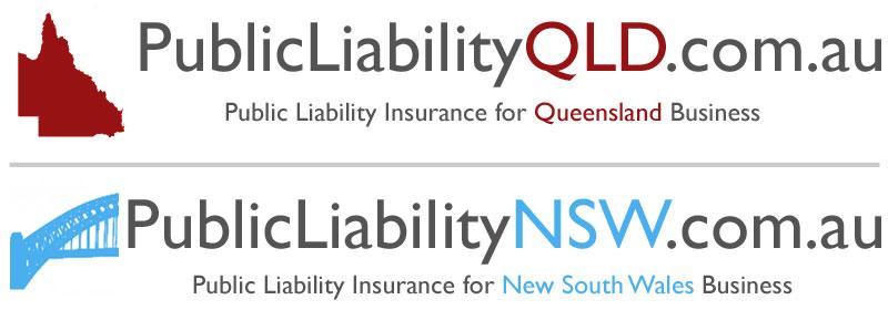 Old public liability logos